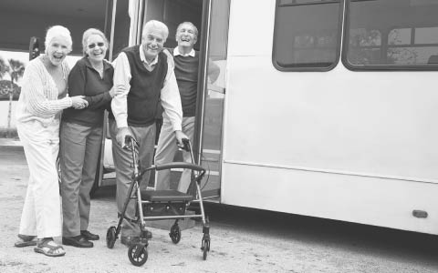 door-to-door services for the elderly